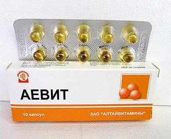 витамины А и Е для волос